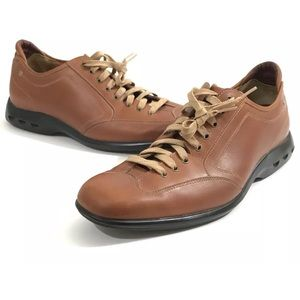 Cole Haan Nike Air Brown Oxfords Shoes Men Sz 10.5